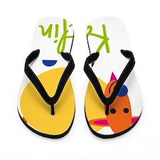 Kaitlin-the-goat Flip Flops