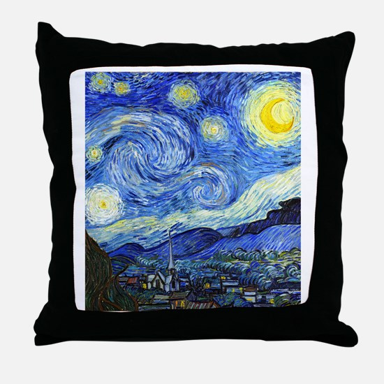 FF VG Starry Throw Pillow