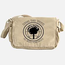 save the trees Messenger Bag