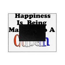 Happiness Married Cuban Picture Frame