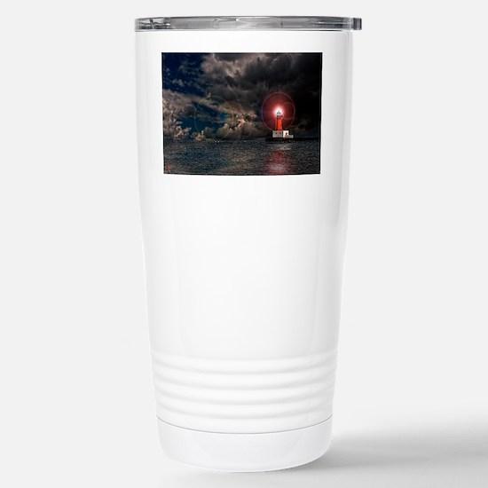 new lighthouse edit 4 Stainless Steel Travel Mug