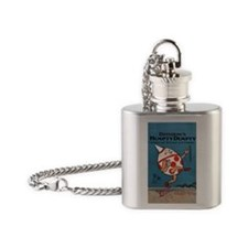 Denslows-Humpty-Dumpty-Book-iPhone  Flask Necklace