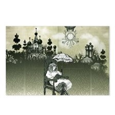 The Wonderland Reader by  Postcards (Package of 8)
