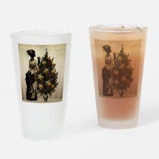 The Christmas Nightmare by Bethalyn Drinking Glass