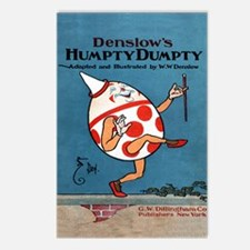 Denslows-Humpty-Dumpty-Bo Postcards (Package of 8)