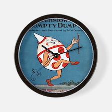 Denslows-Humpty-Dumpty-Book-iPad-2 Wall Clock