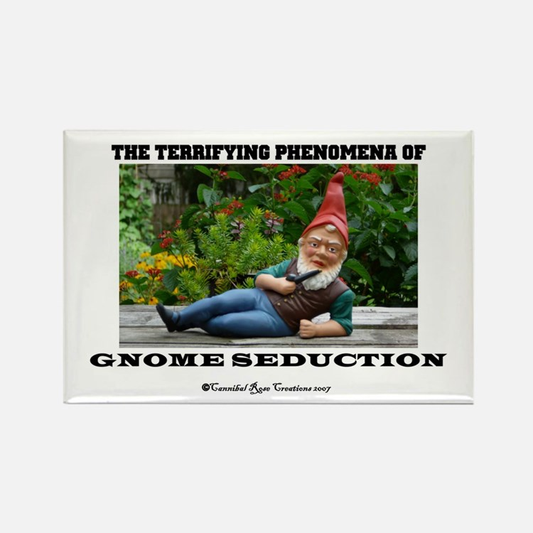 Gnome Seduction Rectangle Magnet