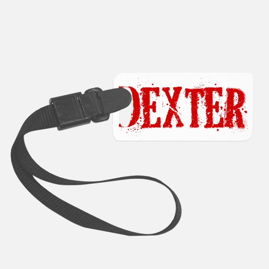 Dexter Blood Hat Luggage Tag