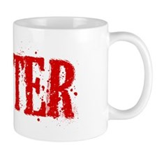 Dexter Blood Hat Coffee Mug