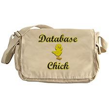 Database Chick Messenger Bag