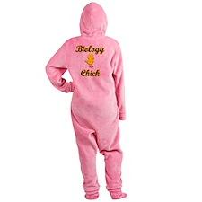 Biology Chick Footed Pajamas