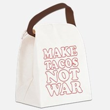Make Tacos Not War Apron Canvas Lunch Bag