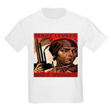 Make Levees Not Wars Kids T-Shirt