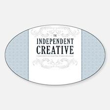 TIC-11.5x9_print2 Sticker (Oval)