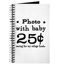 25 Cents Photo with Baby Journal