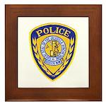 Jicarilla Tribal Police Framed Tile