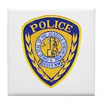 Jicarilla Tribal Police Tile Coaster