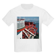 Paddle Wheel Kids T-Shirt