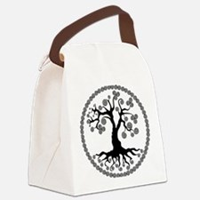 CP tree of life blk 2 Canvas Lunch Bag