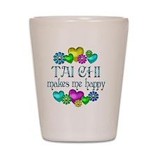 TaiChiHappy Shot Glass