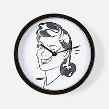Save a Book, Read a Librarian! CUT  AC  Wall Clock