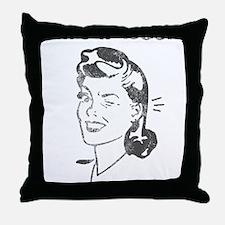 Save a Book, Read a Librarian! CUT  A Throw Pillow