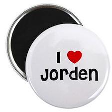 """I * Jorden 2.25"""" Magnet (10 pack)"""