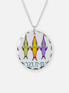 Cozumel 3-fishes Necklace