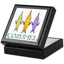 Cozumel 3-fishes Keepsake Box