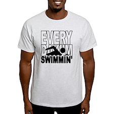 swimming_blk T-Shirt