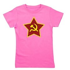 Hammer and Sickle with Star Girl's Tee
