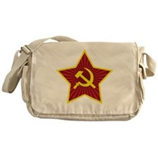 Hammer and Sickle with Star Messenger Bag