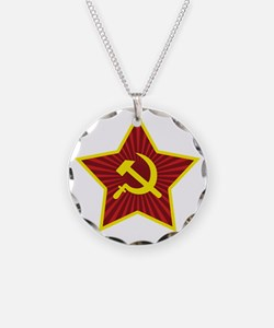 Hammer and Sickle with Star Necklace
