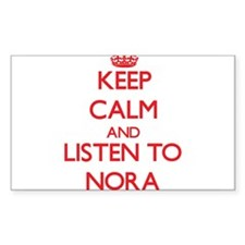 Keep Calm and listen to Nora Decal