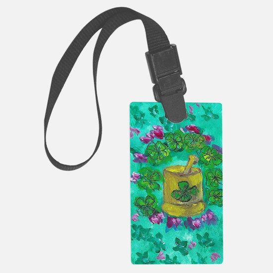 clover1 Luggage Tag