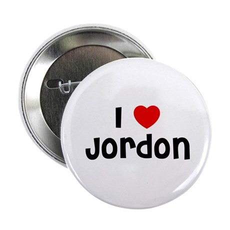 "I * Jordon 2.25"" Button (10 pack)"