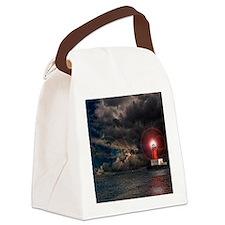 april new lighthouse edit 48x10 Canvas Lunch Bag