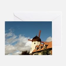 Windmill Solvang Greeting Card