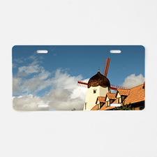 Windmill Solvang Aluminum License Plate