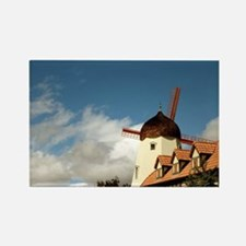 Windmill Solvang Rectangle Magnet