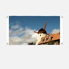 Windmill Solvang Banner