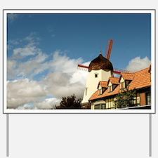 Windmill Solvang Yard Sign
