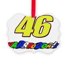 VR46vroom3 Ornament