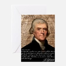 Jefferson 2400X3000.001f Greeting Card