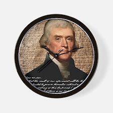 Jefferson 2400X3000.001f Wall Clock