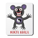 Fighting koalas Mouse Pads