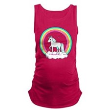 Unicorn Maternity Tank Top