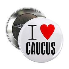 """I Heart Caucus 2.25"""" Button"""