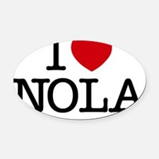 nola Oval Car Magnet