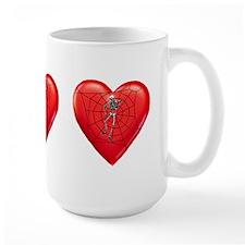 Spider Heart Mug